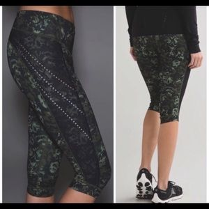 Lululemon Stop At Nothing Crop Camo 4